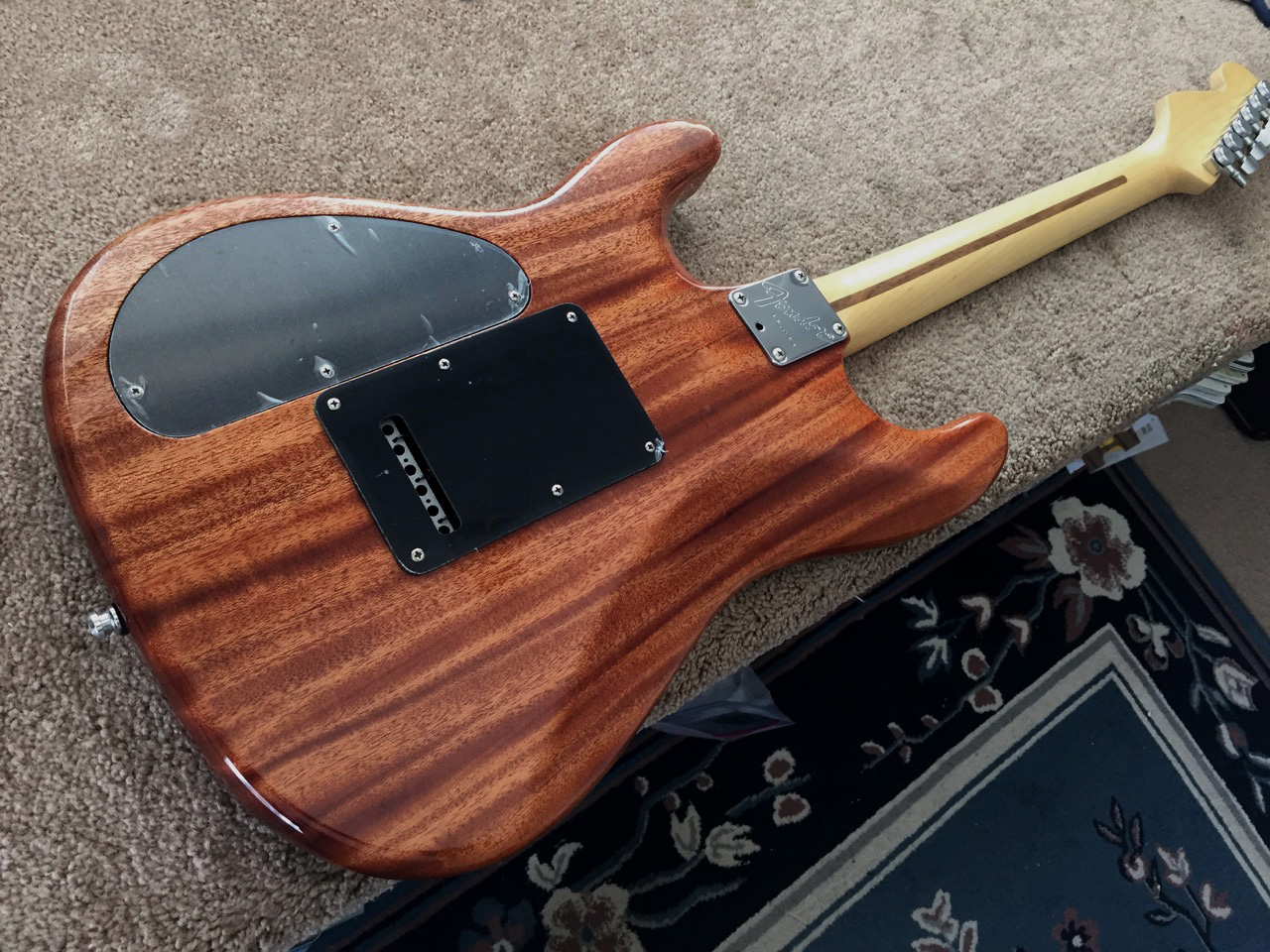 Xhefris Guitars Customized Stratocaster Plus 2 Pickup Guitar Wiring 1993 2016 Ultra Custom Build This Is A Warmoth Mahogany Chamber Body Mated To New Old Stock Ebony Fender Neck It Has Highly Flamed Maple