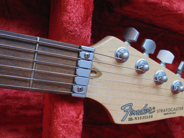 fender stratocaster plus deluxe 1989 made in usa light blue lace pickups ebay. Black Bedroom Furniture Sets. Home Design Ideas