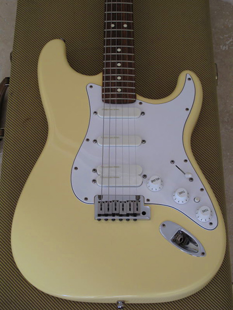 JB_Vintage White xhefri's guitars fender stratocaster plus series  at reclaimingppi.co