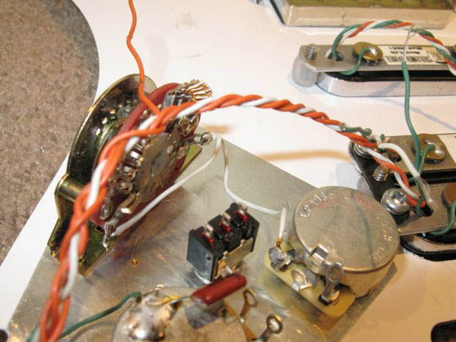 Fender Forums View topic The Building of a Custom Strat Plus – Lace Sensor Pickup Wiring Tips