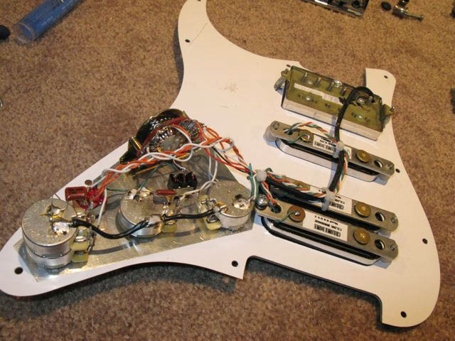 Custom Strat Wiring - Wiring Diagram Img on