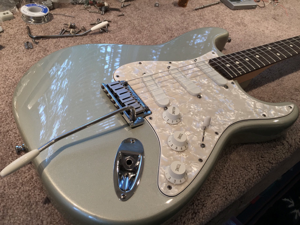 "The Fender Stratocaster ""Strat"" Plus Series"